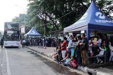 PSBB Jakarta, Bus Wisata Transjakarta Berhenti Operasi