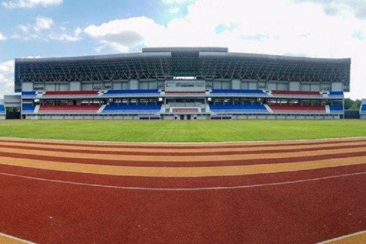 Wajah baru Stadion Mandala Krida, Yogyakarta.