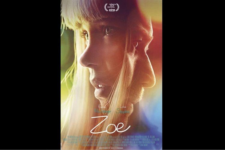 Lea Seydoux dan Ewan McGregor dalam film fiksi ilmiah Zoe (2018).