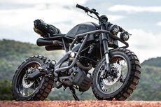 Ubah Tanpang Yamaha XSR155 Scrambler Jadi Radikal