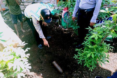 Mencangkul di Kebun, Warga Ngawi Temukan Mortir Peninggalan Perang