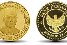 Daftar Uang Edisi Khusus Kemerdekaan RI Berbahan Emas Murni