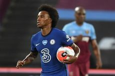 West Ham Vs Chelsea, Dua Gol Willian Gagal Selamatkan The Blues