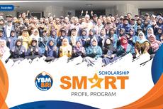 Beasiswa YBM BRI untuk Mahasiswa S1, Berupa Tunjangan Bulanan