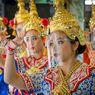 New Normal, Penari Tradisional di Thailand Pakai Penutup Wajah