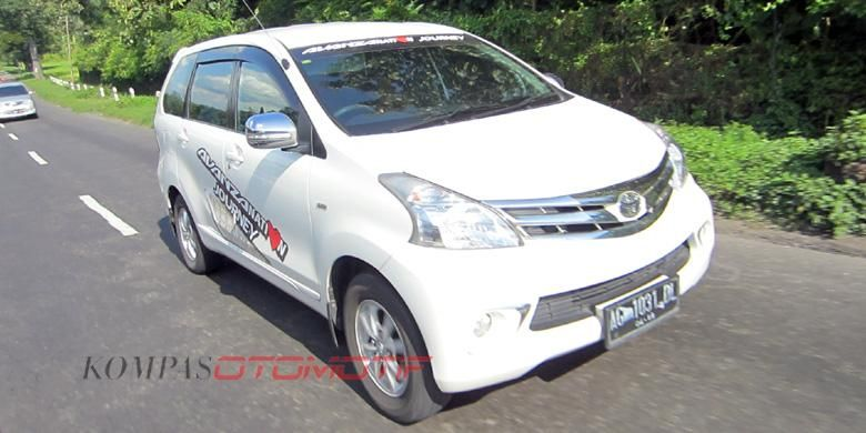 Penjualan Avanza masih yang terlaris di Jawa Tengah dan Yogyakarta.