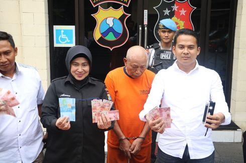 Edarkan Uang Palsu Senilai Rp 20,8 Juta, Pria Lansia Ditangkap