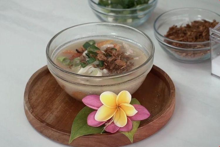 Ilustrasi sup singkong