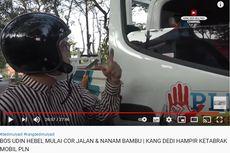 Dedi Mulyadi Marah-marah, Motornya Nyaris Tabrakan dengan Mobil PLN