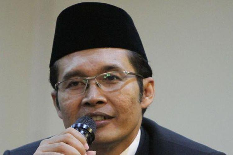 Pimpinan terpilih KPK periode 2015-2019, Alexander Marwata, pada acara serah terima jabatan, di Gedung KPK, Jakarta, Senin (21/12/2015).