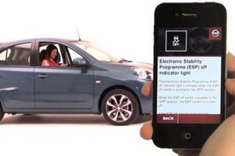 iManual, buku petunjuk manual untuk Nissan Micra/ March dalam satu aplikasi.