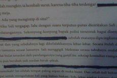 Kalimat Kasar di Ribuan Buku Pelajaran Bahasa Indonesia Hanya Dicoret Spidol