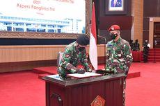Panglima TNI PimpinSertijab Kepala Staf Umum hingga Asisten Personel