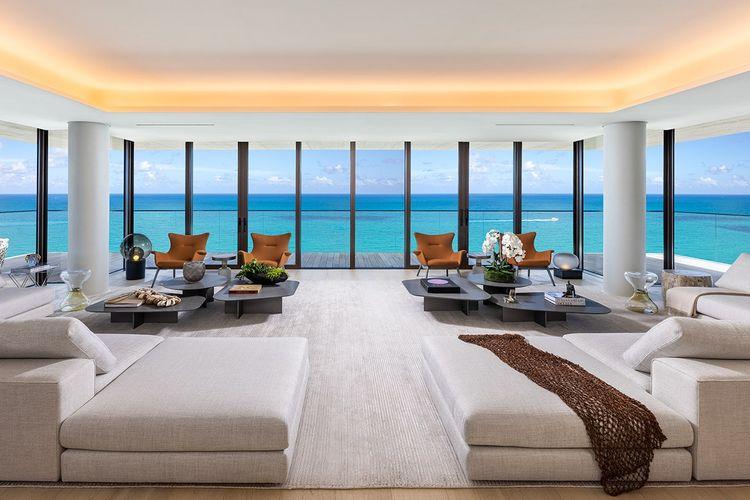 Penthouse Miami Beach di Amerika Serikat