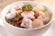 Resep Sup Kakap Merah Fillet Masak Nanas, Hidangan Berkuah Segar