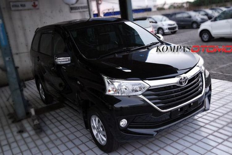 Grand New Avanza sudah sampai di diler Toyota.