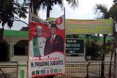 Masa Tenang, Baliho Prabowo Masih Terpampang di Masjid