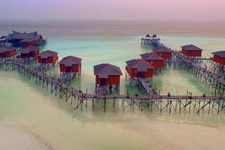 Keindahan Pulau Maratua, Kalimantan Timur.