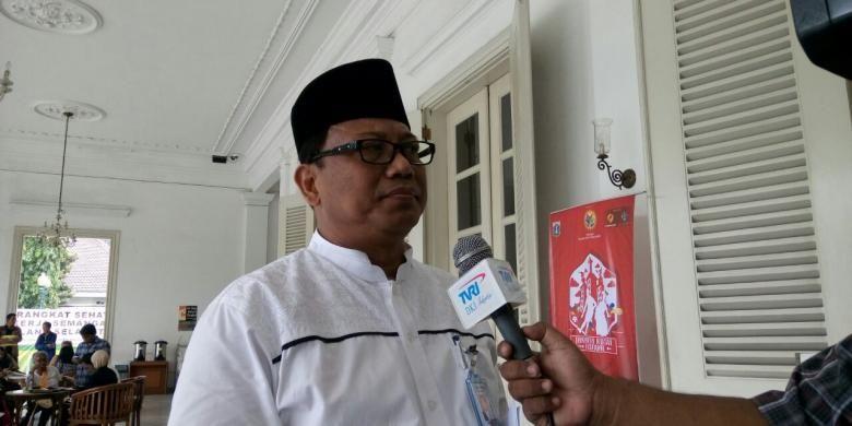 Kepala Dinas Tenaga Kerja dan Transmigrasi DKI Jakarta Priyono, di Balai Kota DKI Jakarta, Rabu (26/10/2016).