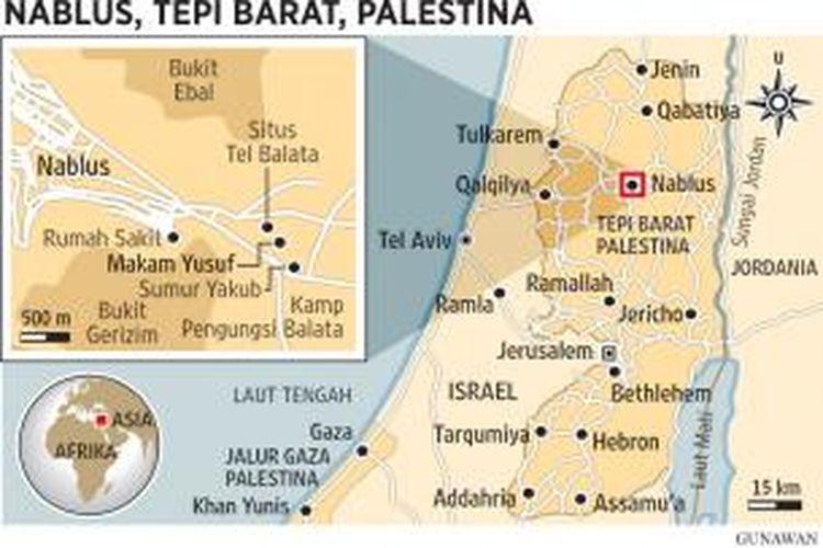 Peta Israel-Palestina