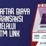 Rincian Biaya Tarik Tunai dan Cek Saldo di ATM Link untuk Nasabah BNI