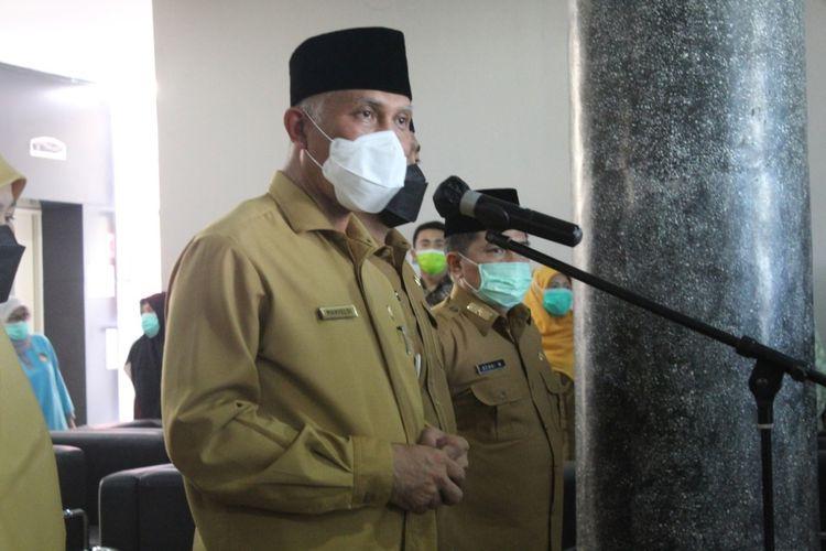 Gubernur Sumbar Mahyeldi