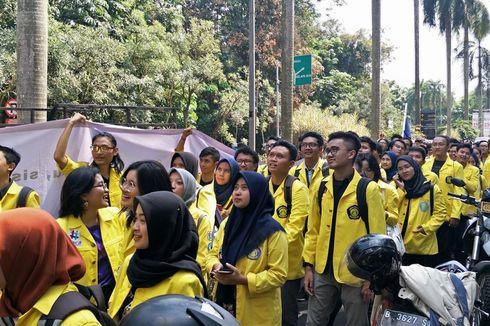 Ini Tuntutan Aksi Demo Tolak Penerapan Secure Parking di Universitas Indonesia