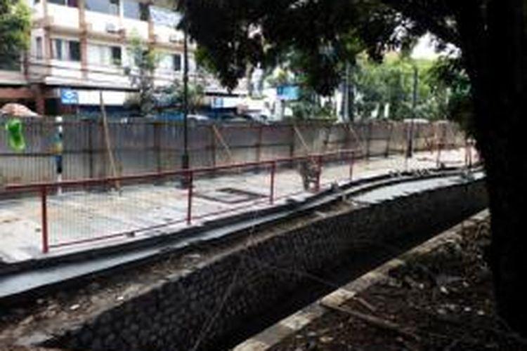 Sungai Cikapayang bakal direvitalisasi menjadi ruang publik baru di Kota Bandung. Selain didesain menarik, sungai itu dilengkapi penjernih air.