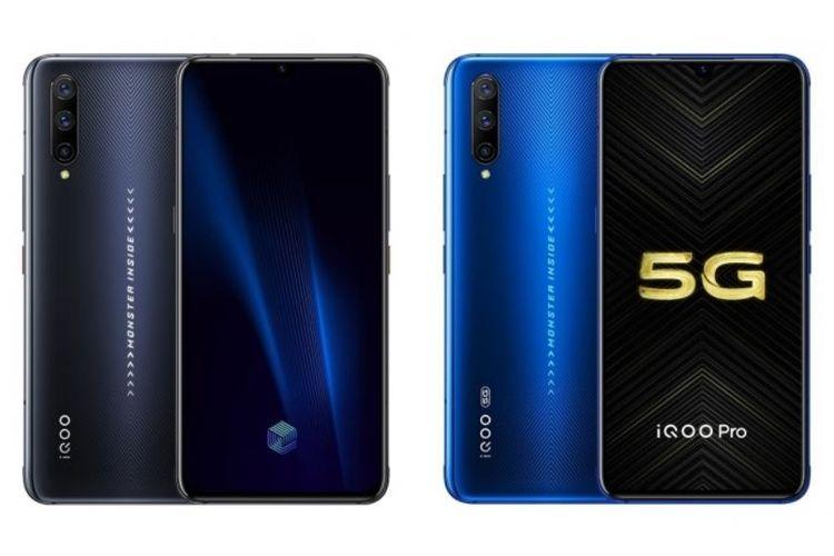 Ilustrasi Vivo iQoo Pro dan iQoo Pro 5G