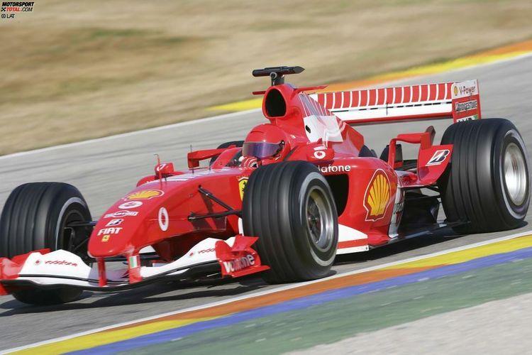 Rossi menjajal mobil Scuderia Ferrari