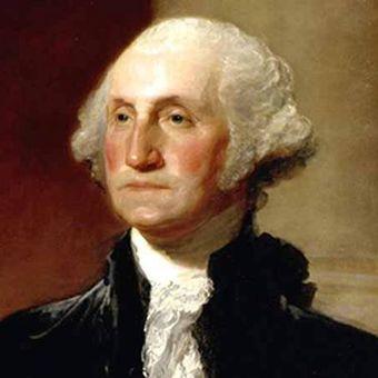 George Washington, Presiden pertama Amerika Serikat.