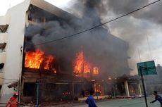 SMK Yadika 6 Pondok Gede Terbakar Diduga akibat Korsleting Laboratorium Komputer