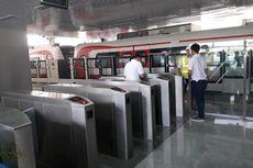 Melihat Stasiun Velodrome, Tempat LRT Jakarta Diuji Coba Hari Ini