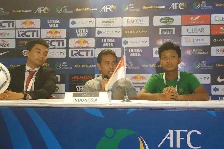 Pelatih timnas U-16 Indonesia, Bima Sakti