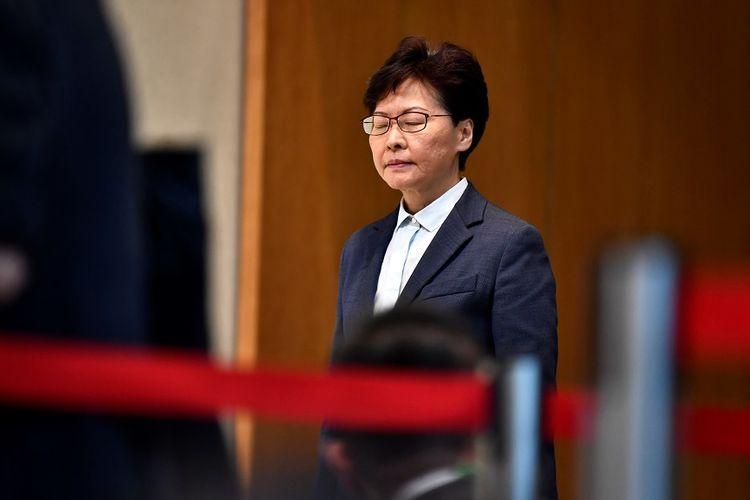 Pemimpin Eksekutif Hong Kong, Carrie Lam.