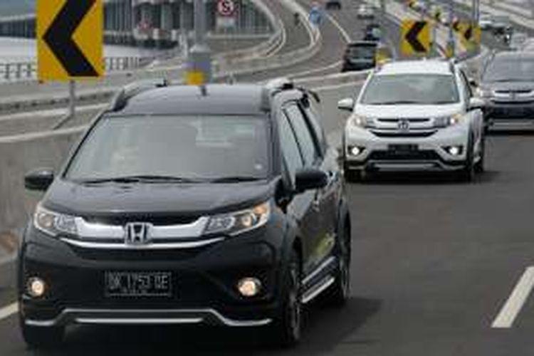 Test Drive Honda BR-V di Bali