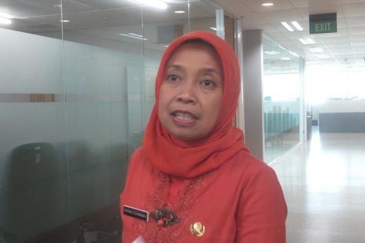 Kepala Biro Hukum DKI Jakarta Yayan Yuhana di Balai Kota, Kamis (28/4/2016).