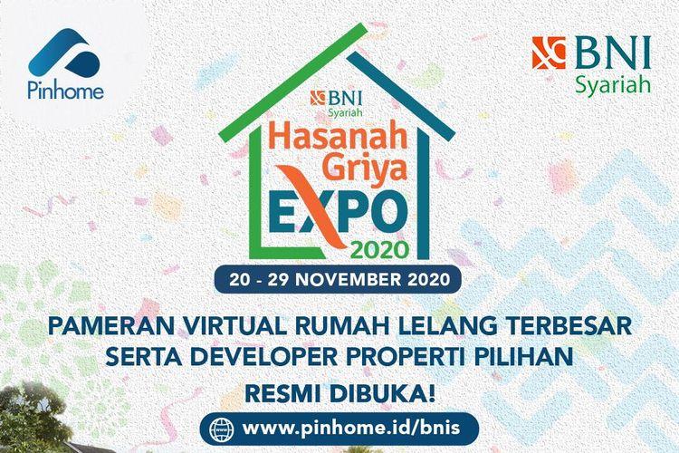 Pameran Virtual rumah lelang terbesar serta developer properti pilihan yang diselenggarakan oleh Pinhome dan BNI Syariah