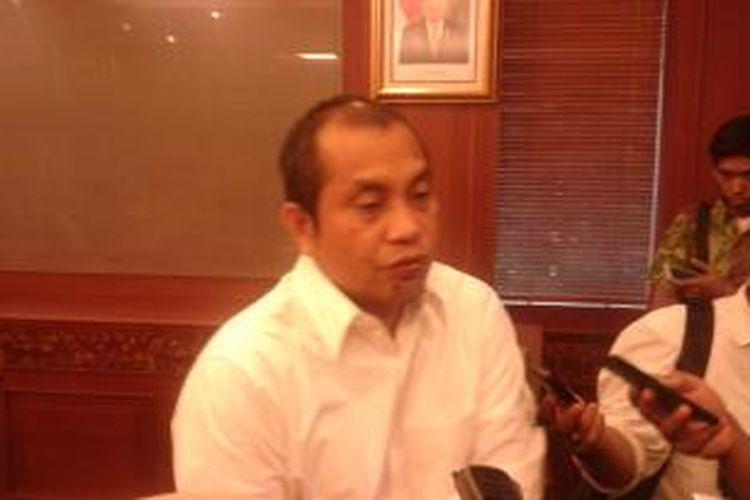 Menteri Desa, Pembangunan Daerah Tertinggal dan Transmigrasi Marwan Jafar, Senin (22/12/2014).
