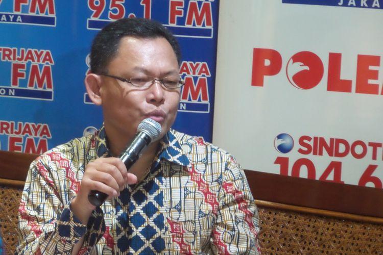 Direktur Komunikasi dan Informasi Badan Intelijen Negara Wawan Hari Purwanto.