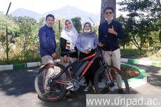 Easy Bike, Sepeda Listrik Tenaga Matahari Inovasi Mahasiswa Unpad