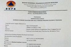 [HOAKS] Surat Perintah BNPB Terkait Normalisasi Sungai Sulawesi Tenggara