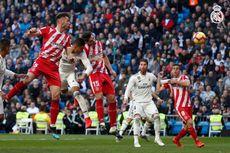 Real Madrid Vs Girona, Ramos Kartu Merah, El Real Kalah Tipis