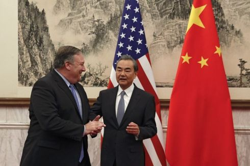 Bertemu Pompeo, Menlu China Minta AS Berhenti Bertindak Sesat