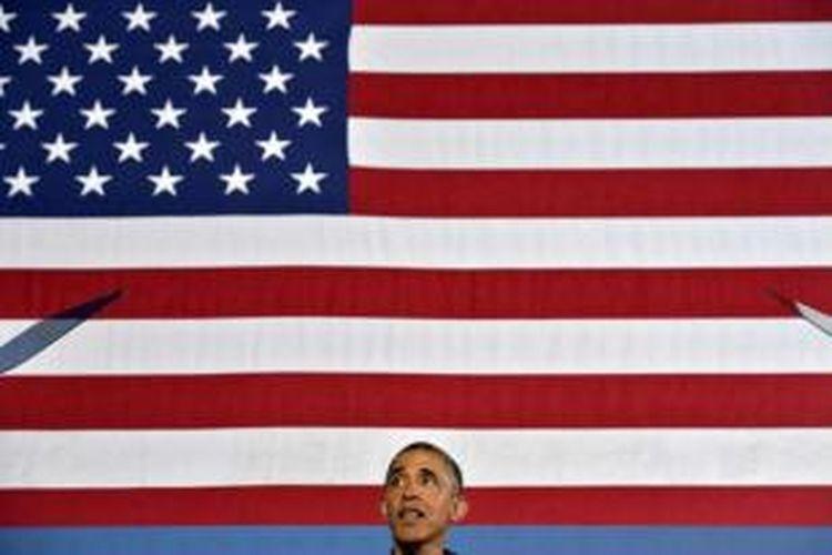 Presiden AS Barack Obama berbicara di Henninger High School, 22 Agustus 2013 di Syracuse, New York.