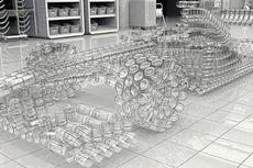 Keren, Mobil F1 Terbuat dari Gelas