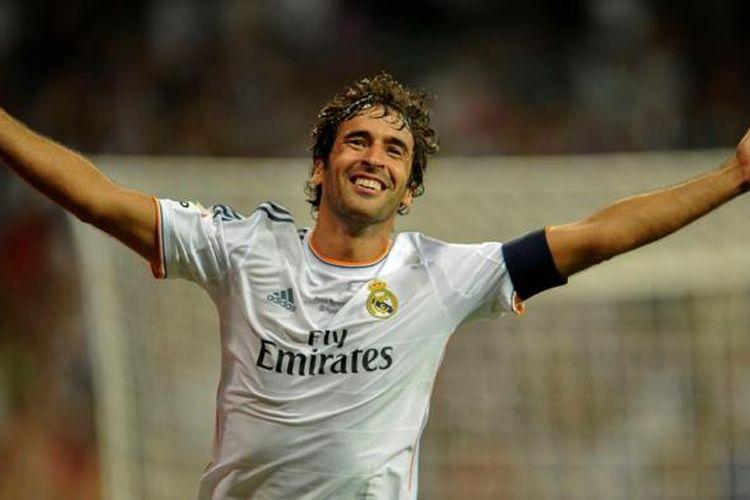 Selama Jadi Kapten, Raul Gonzalez adalah Pemain Termahal Real Madrid  Halaman all - Kompas.com