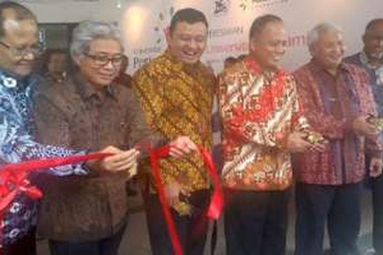 Menristek dan Dikti Muhammad Nasir meresmikan Universitas Pertamina di Jakarta, Kamis (11/2/2016). Universitas Pertamina didirikan untuk menghasilkan SDM dan riset unggul di bidang energi.