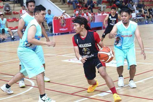 Basket Antarmedia Masuki Babak Delapan Besar