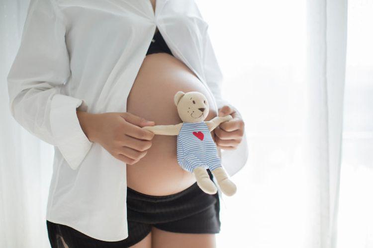 Ilustrasi ibu hamil.